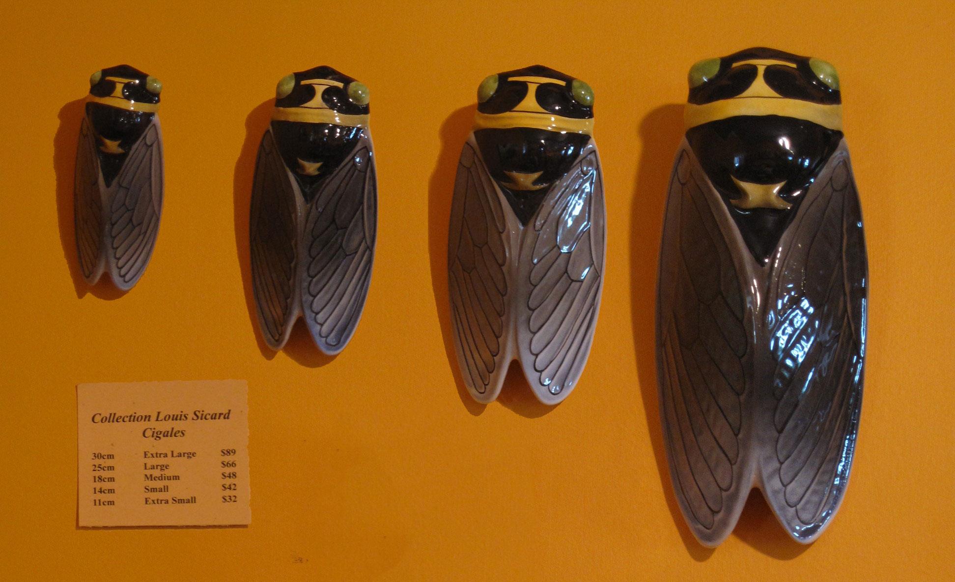 Ceramic Cicada